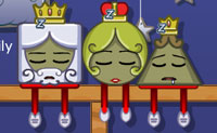 Acorda todos os membros da família real! Em cada nível, combina as peças de madeira de maneira a que se movam e empurrem a família real do seu trono. Diverte-te!