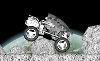 Alguma vez jogaste um jogo de rali no qual a gravidade tenha sido alterada? Desta vez, o percurso de obstáculos não é na Terra, mas na Lua, onde a gravidade é menor. Chega ao fim o mais rápido que consigas. Diverte-te!