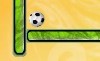 Guia a bola para o buraco no campo. Apenas podes disparar em linhas rectas, é por isso que há as barreiras; usa-as para parar a bola e mudar a sua direcção. Nalguns níveis, podes saltar as barreiras um número limitado de vezes clicando nelas.