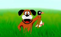 Tu e o teu cão vão para uma caçada aos patos. Abate todos os patos que o teu cão levanta dos campos. Não atinjas o teu cão.