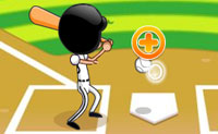 Joga este divertido jogo de basebol! Controlas quando a bola é atirada. Tenta atirar cada bola o mais longe que consigas para atingires uma super pontuação!