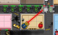 O Dr. Doom quer destruir a tua cidade. Por sorte, o Esquadrão de Super-Heróis está a postos para te dar uma mão e parar o Dr. Doom. Defende a cidade usando uma rede estratégica de torres de defesa. Boa sorte!