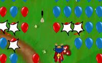 Atira em tantos balões quantos possas e usa os pontos que ganhas para comprar actualizações.