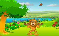 Ajuda este leão esfomeado a apanhar tantas peças de frango assado quanto possível nos seus pratos antes que esgote o tempo. Se falhares uma peça, perdes 50 pontos, o que pode ser complicado, pois tens de atingir um objectivo. Boa sorte!