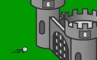 Este � um jogo divertido, protege o teu castelo matando os bonequinhos atirando-os para cima.