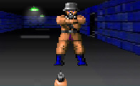 Wolfenstein est� de volta! Descobre o caminho pelas catacumbas e mata todos esses malvados Nazis e as suas feias bestas. Vai em frente!