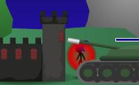 Protege o teu castelo contra bonequinhos , tanques e catapultas.
