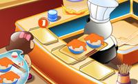 O Panda está a gerir uma loja de talharins. Ajuda-o a levar aos cliente o prato de talharins que eles pediram o mais rápido possível e ganha um monte de dinheiro. Podes comprar actualizações para a loja do Panda no início de cada nível. Boa sorte!