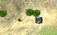 Manobra o teu tanque pelo terreno e abate todos os soldados hostis antes que o tempo ou a sa�de acabe.