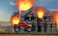 Conduz o teu carro de bombeiros até ao fogo e extingue-o antes que o tempo termine.