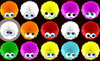 Googly-eyed little balls of fur that giggle, squeak, and sneeze as you push them across the board! Once you start popping Chuzzles you might not be able to stop!