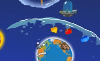 Depois de um logo tempo, os alienígenas descobriram o sítio ideal para viver: a Terra. Ao aterrar, eles destroem boa parte da Terra e prometem fazer reparações. Resolve os puzzles, descobre coisas para reparar a Terra e prepara a Lua para os alienígenas viverem. Boa sorte!