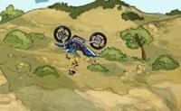 Conduz a tua moto de crosse e salta por cima de tantos obstáculos quantos possas. Quanto mais espectaculares são as acrobacias, mais pontos ganhas. Algumas acrobacias podem ser verdadeiramente difíceis: a pirueta de 360 graus, por exemplo, requer boas capacidades.