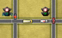 Opera os semáforos de tal forma que os carros andem ou parem na altura certa. Quando eles colidem, o jogo acaba!
