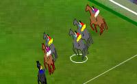Corre com o teu cavalo o mais rapidamente possível pelo percurso e tenta saltar sobre os obstáculos.