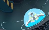 Neste louco jogo do espaço podes jogar todo o tipo de personagens: He-man, Gundam, Transformers e Zoids. Voas por um túnel na tua nave espacial e tens 2 minutos para juntar tantos pontos quantos possível. Evita os obstáculos ou abate-os, pois quando eles te atingem, perdes tempo. Podes disparar minas, pedaços de parede e feixes de electricidade. Apanha hologramas, bombas, setas esferas de energia, escudos e círculos.