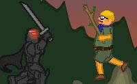 És um cavaleiro zombie que vive na floresta, que não gosta de ser incomodado por ninguém. De repente, hordas de escuteiros entram na floresta e parece que estão à tua procura! Como não aprecias este tipo de inesperados e não bem-vindos visitantes, decides passar à ofensiva! Depois de cada nível podes actualizar as tuas armas e equipamentos.