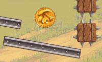 Larga todo o tipo de coisas para esconder e proteger as moedas de ouro. Remove todas as más moedas castanho escuro e garante que nenhumas pedras caiem na tua moeda de César!