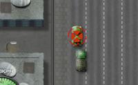 És um soldado que vai capturar terroristas tentando infiltrar-se na rede da Equipa Alfa. Eles estão a conduzir na auto-estrada e vês no ecrã que carros terrorista tens de destruir. Eles estão marcados com uma cruz vermelha. Tenta evitar todos os outros carros, pois cada colisão vai-te atrasar!