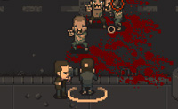 O objectivo deste jogo: sobreviver! Tens de matar todos os zombies e se tiveres tempo de sobra, podes salvar as pessoas inocentes em angústia.