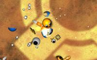 Todas as Gunballs querem tornar-se as novas líderes do Império Gunball! Tu és uma delas, e vais fazer o teu melhor para ganhar o torneio. Cuidado com as armadilhas de espinhos: quando pisas uma delas, serás ferido seriamente! As bolas verdes dizem-te que movimentos são possíveis, e as amarelas mostram-te que níveis estão disponíveis. Completa todos os níveis para te tornares no novo líder!