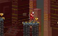 Estás a correr por um traiçoeiro labirinto onde tens de apanhar tantos cristais quanto possível. Sobe escadas e salta para as plataformas para seres lançado. As plataformas amarelas são seguras, e as plataformas azuis também: elas têm uma função de correia transportadora. As plataformas bicudas são perigosas: elas perfuram-te! As plataformas púrpura são arriscadas também, pois colapsam. As plataformas vermelhas podem ser úteis e traiçoeiras ao mesmo tempo: elas abrem, fazendo-te cair.