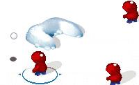 Snow fight 1
