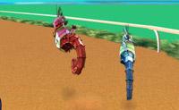 Гонка с морскими коньками