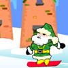 Weihnachtsmann Snowboard Spiele