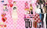 Девочка-модница 21
