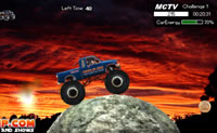 Course de Monster Truck
