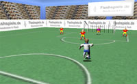 3D Spille Fodbold