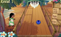 Stitch Tiki Bowling