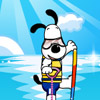 Puppy waterskiing Games