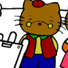 Hello Kitty/ Joc de colorat