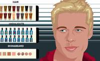Vesti e trucca Brad Pitt