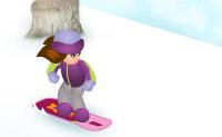 Snowboarding Betty