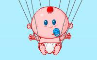 Bébé parachute