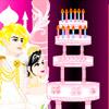Jeux Fais un gâteau du mariage