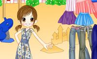 Karin одевается