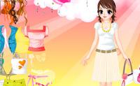 Vestir muchacha cariñosa 1