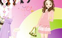 Enfeitar menina simpática 2