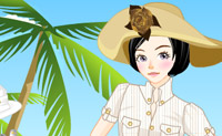 Dress up Beach Girl 3