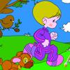 игры Молодёжные цвета Раскрась мальчика