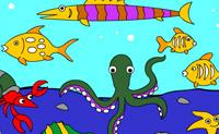 Zeedieren Kleuren
