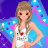 Dancing Star Dress Up Games