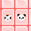Hello Kitty Memory Games