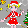 игры Christmas Girl Painting