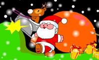 Colorie le Père Noël