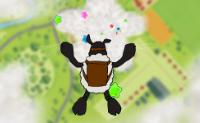 Mouton parachutiste
